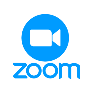 zoom logo for video chat